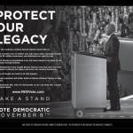 Protect Our Legacy – Vote Democratic November 8th