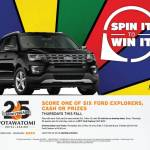 Spin It To Win It Thursdays This Fall at Potawatomi Hotel & Casino