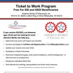 Ticket To Work Program Free For SSI and SSDI Beneficiaries
