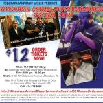 Wisconsin Annual Blues Harmonica Festival 2016 On Nov 11