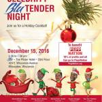 Celebrity Blu Tender Night To Benefit PeppNation on Dec 15