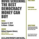 Movie Screening: The Best Democracy Money Can Buy on Jan 11