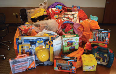 Toys donated by the MBCTC delivered to the Boys & Girls Club (Photo from the Boys & Girls Club)