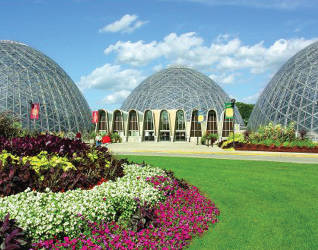 """Mitchell Park Horticultural Conservatory, """"The Domes"""""""