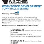 Workforce Development Town Hall Meeting on Feb 2