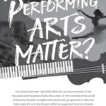 Why The Performing Arts Matter