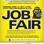 Job Fair on April 13th