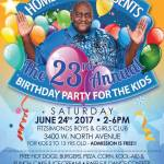 Homer Blow Presents The 23rd Annual Birthday Party For The Kids