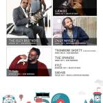 Ludacris, The Isley Brothers, Ziggy Marley, T-Pain and Others at Summerfest 2017