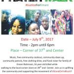 Peace and Prayer Walk in Justice for Emani Robinson