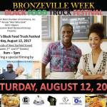 Bronzville Week Black Food Truck Festival Saturday August 12