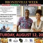 Bronzville Week Black Food Truck Festival Saturday August 12