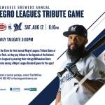 Annual Negro Leagues Tribute Game On Saturday August 12th