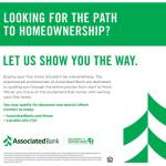 Let Us Show You The Way To Home Ownership at Associated Bank