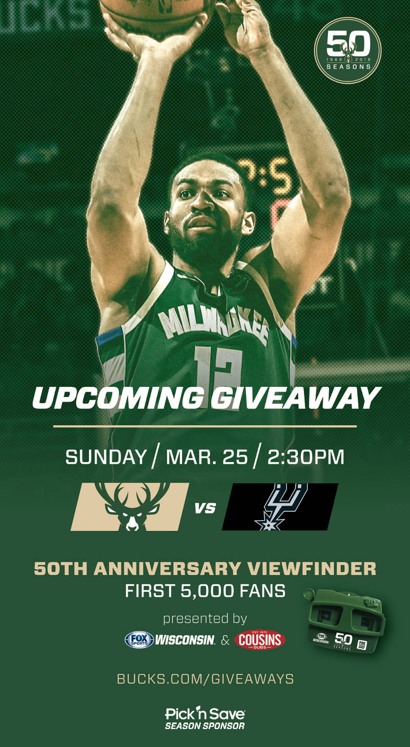 Sixers vs bucks 2018 giveaways