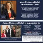 Vote Judge Rebecca Dallet for Supreme Court on April 3rd