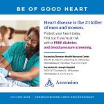 Free Diabetes and Blood Pressure Screening at Ascension