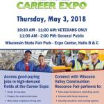 Milwaukee Career Expo Thursday May 3rd