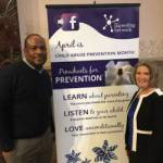 Leaders Meet at City Hall for National Child Abuse Prevention Month