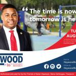The Time is Now, Tomorrow is Here – Kalan Haywood for 16th Assembly District