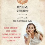 Salvation Army Others Luncheon on Oct 22 – Guest Speaker Lolo Jones