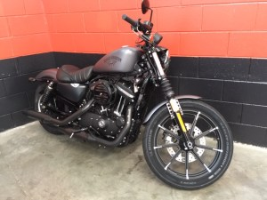 2016 Brand New Iron 883 Harley-Davidson Motorcycle, Union-Made In Milwaukee
