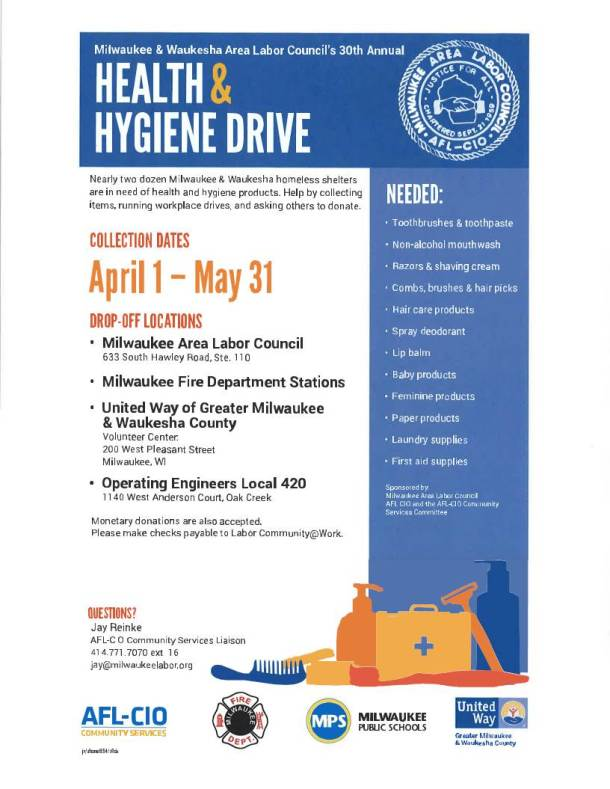 Health and Hygiene Drive