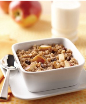 Apple Raisin Breakfast Quinoa