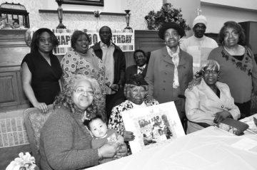 Mattie Cooper celebrates 100th birthday