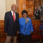 City Hall Chambers Reuben and Mildred Harpole Recipients of the Frank P. Zeidler Public