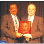 Honorary service award bestowed upon Attorney Michael F. Hupy