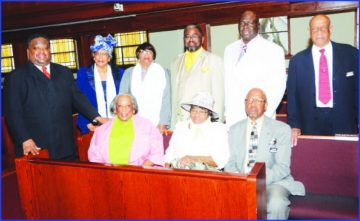Mt. Olive holds Resurrection Sunday Service