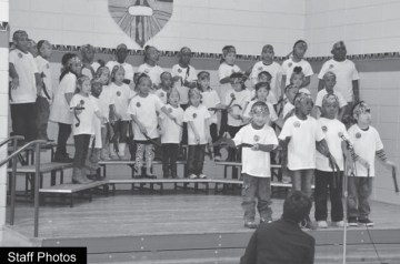 Park View Elementary students
