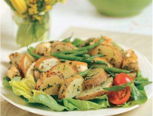 Potato and Pesto Chicken Salad