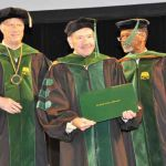 Dr. Roland A. Pattilo, MD receives honorary degree at the Medical College of Wisconsin commencement