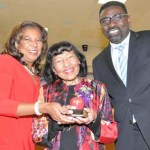 Joyce Hall honored by MPS Board of Directors for Excellence in Education