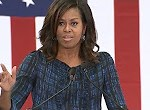 Michelle Obama hits Trump on debate performance, birtherism