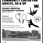 Join Us At Our New Community Center For Adults 50 and Up