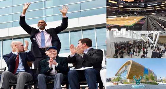 Milwaukee Bucks celebrate grand opening of new arena, The Fiserv Forum