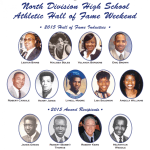 North Division High School Athletic Hall of Fame Weekend