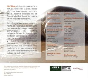 Ficha técnica del equipo de la película Lih Wina.