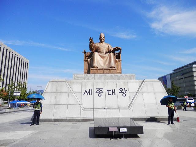 Monumento a Sejon el Grande Seul