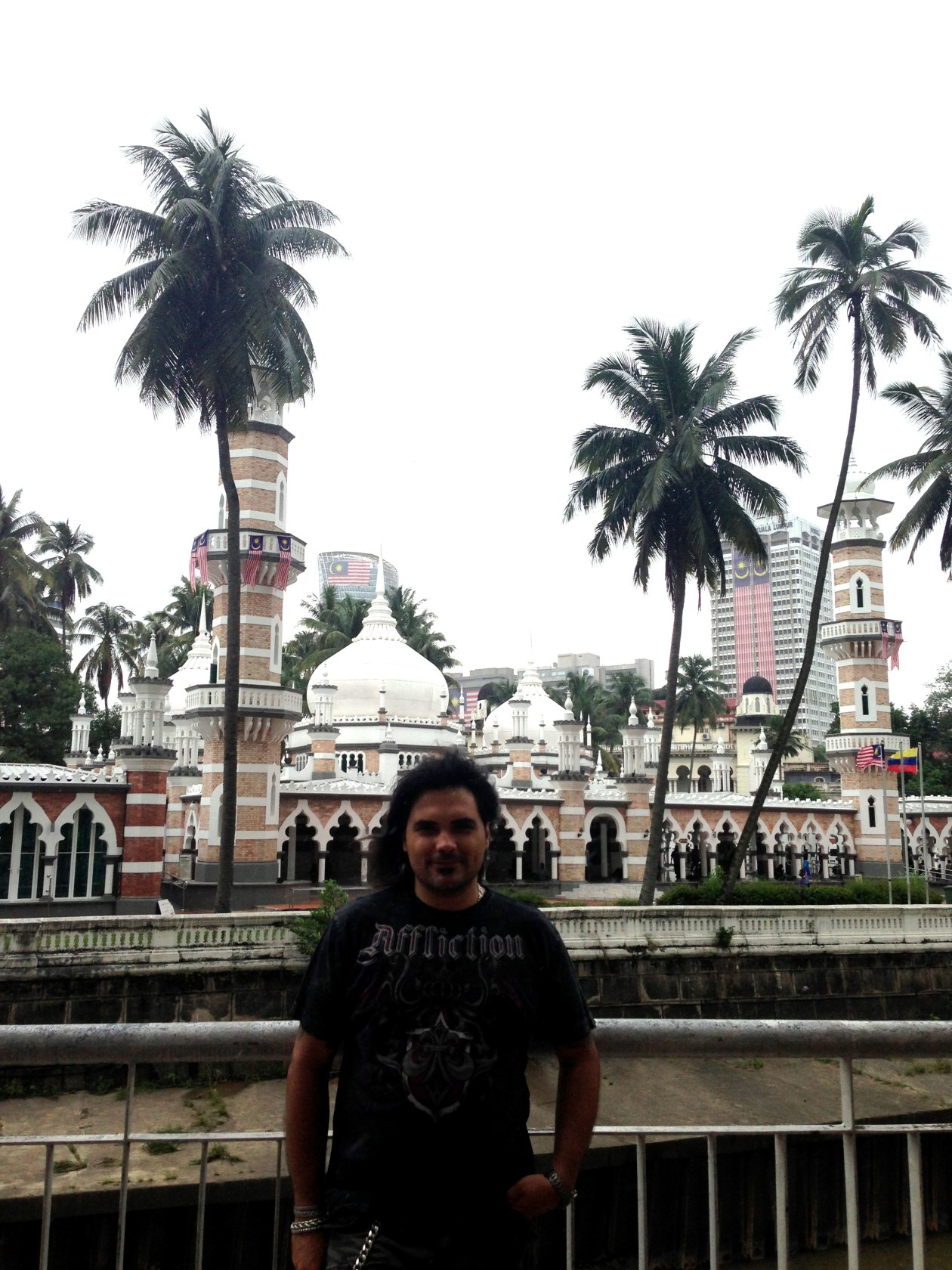 Mezquita Masjid Jamek Kuala Lumpur