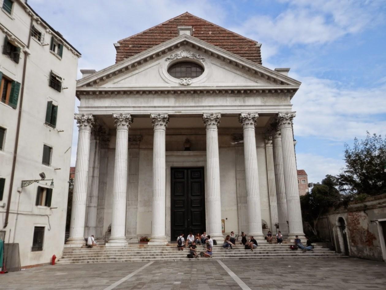 Iglesia de San Nicola de Tolentino Venecia