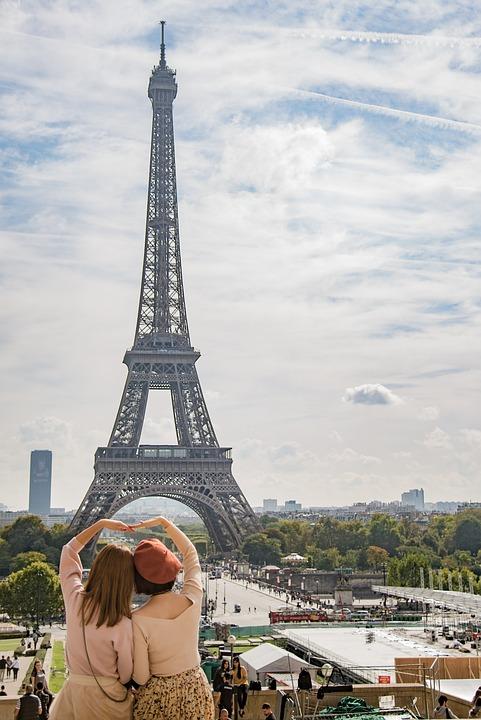 Torre Eiffel Paris Amor Felicidad