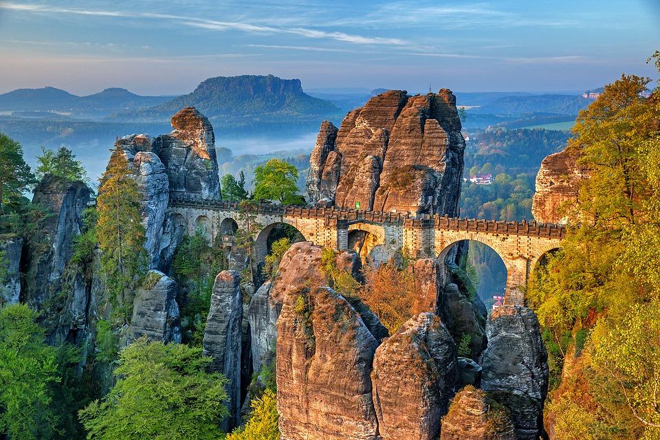 Bastei Bridge Alemania