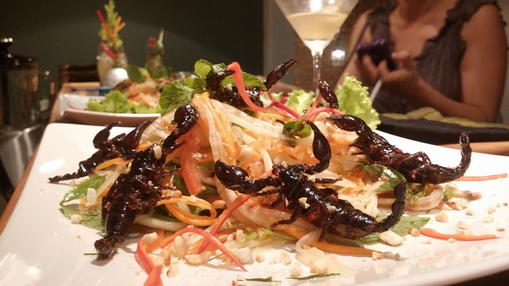 Bugs Cafe Siem Reap Camboya
