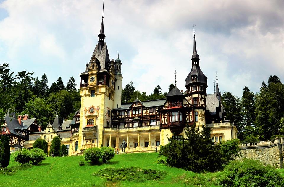 Palacio Peles Rumania Transilvania