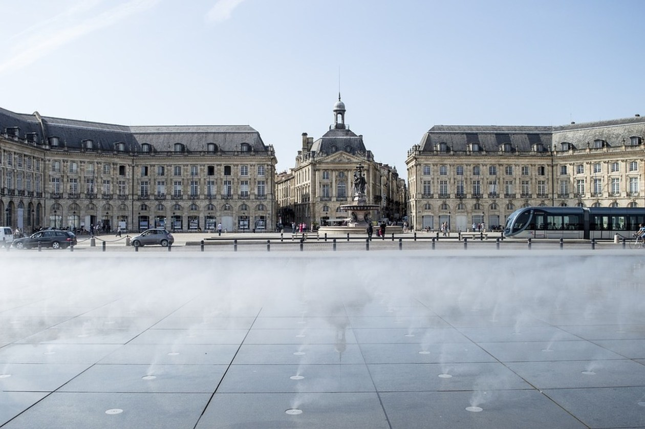 Place de la Bourse Burdeos