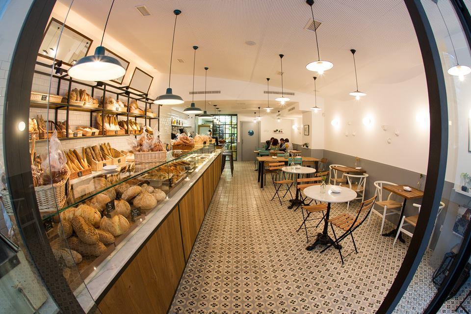 Miga Bakery cafeteria Madrid